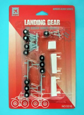Landing Gear for Hogan Models Airbus A380 HG5316 Scale 1:200