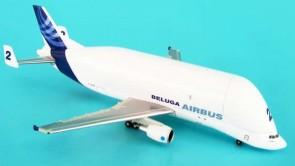 Beluga #2 Airbus A300-600ST F-GTSB W/Stand Hogan Metallic HG8188 1:500