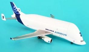 Beluga #3 Airbus A300-600ST F-GSTC W/Stand Hogan Metallic HG8195 1:500