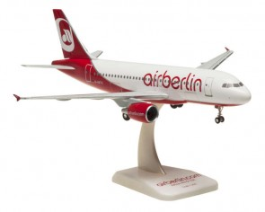 Air Berlin Airbus A319 Reg# D-ASTX W/Gear Hogan HGAB04 Scale 1:200