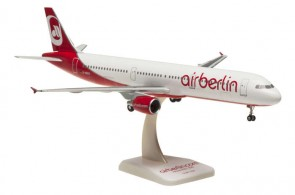 Air Berlin Airbus A321 Reg# D-ABCH W/Gear Hogan HGAB05 Scale 1:200