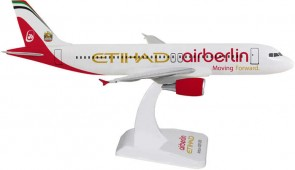 Air Berlin / Etihad Airbus A320 No Gear Reg# D-ABDU Hogan HGAB07 Scale 1:200