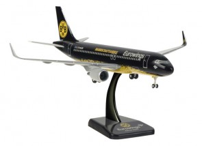 Eurowings BVB Dortmund Airbus A320 Gears & Stand by Hogan HGEW09 Scale 1:200