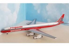 Hispania Douglas DC-8-61 C-GMXQ die-cast Aero200 AC219910 scale 1:200