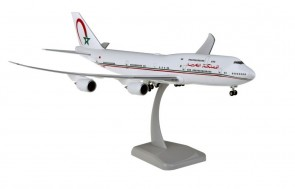 Hogan Morocco Government Boeing 747-8i with gears & stand Hogan HG11618G scale 1:200