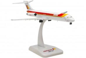 """Iberia MD-87 EC-EXG """"Ciudad de Almeria"""" Hogan models HG5675 scale 1:200"""