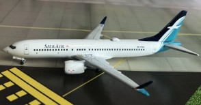 Sale! Silk Air  B737-MAX 8 9V-MBB AeroClassics AC419307 Scale 1:400