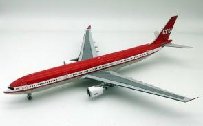 LTU Airbus A330-300 D-AERQ with stand InFlight IF333LT0919 scale 1:200