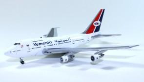 Sale! Yemenia Boeing 747SP 7O-YMN Gemini Jets GJIYE341 scale 1:400