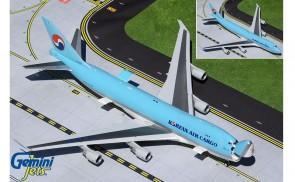 Interactive Doors Korean Air Cargo Boeing 747-400ERF HL7603 Gemini200 G2KAL930 scale 1:200