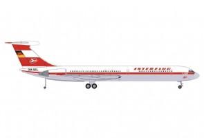 Interflug Ilyushin IL-62M DM-SEL Илью́шин Ил-62 Herpa 571708 scale 1:200