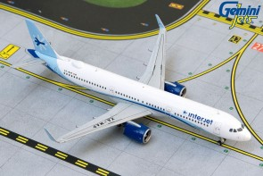 Interjet Airbus A321neo XA-MAP Gemini Jets GJAIJ1884 scale 1:400