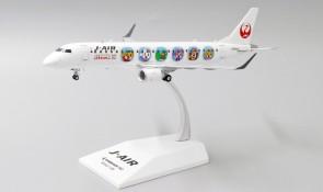 J-Air JAL ERJ-190 Std Shimajiro livery JA254J JC EW2190002 scale 1:200