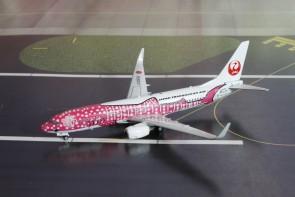 JAL Japan Transocean Air Boeing 737-800W Pink Whale Shark JA06RK Phoenix 04173 scale 1:400
