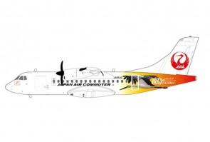 """JAL Japan Air Commuter ATR 42-600 JA05JC """"Tajima"""" JC Wings EW4AT4002 scale 1:400"""