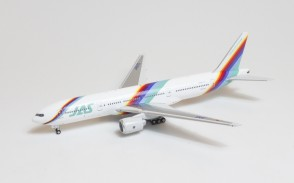 JAS (Japan Air Systems)  Boeing 777-200  JA007D Phoenix 04378 diecast scale 1:400