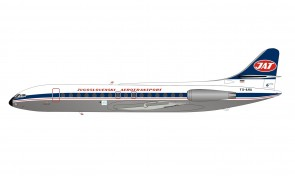 JAT Yugoslav Airlines Sud SE-210 Caravelle VI-N YU-AHA with stand Inflight IF210JU1120P scale 1:200