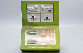 JC4GSESETB Airbus A320 Front Fuselage Sections Set 1:400