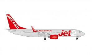 "Jet2 Boeing 737-800 G-GDFP ""Jet2 Paris"" Herpa Wings 535137 scale 1:500"
