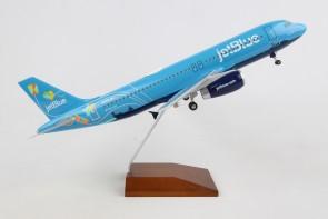 "JetBlue Airbus A320 N779JB ""Bluericua"" Skymarks Supreme SKR8376 scale 1:100"
