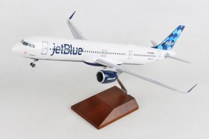 jetBlue Airbus A321neo N2002J Balloons tail stand &gear Skymarks Supreme SKR8424 scale 1:100