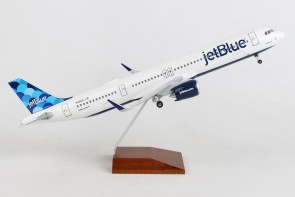 jetBlue Airbus A321neo N2002J Balloons tail stand &gear Skymarks Supreme SKR8424 scale 1-100
