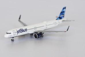 """JetBlue Balloons Airbus A321neo N2016J """"Aruba, Jamaica, Blue I Wanna Take Ya"""" die-cast NG Models 13019 scale 1:400"""