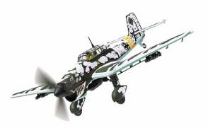 Junkers Ju87B Luftwaffe 3./StG 2 Immelmann Eastern Front Operation Barbarossa 1941 Corgi CG32519 scale 1:72