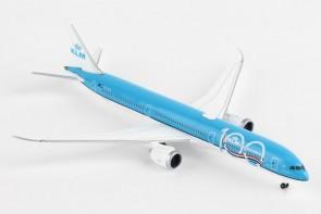 KLM 100 Years Boeing 787-10 Dreamliner Herpa wings 533751 scale 1:500