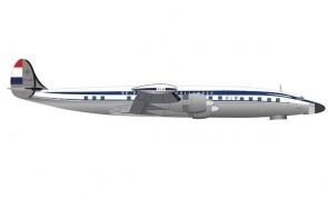 "KLM Super Constellation L-1049G PH-LJC ""Negation"" Herpa Wings 571616 scale 1:200"