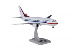 Korean Air Force Boeing 737-300 Reg: 85101 with stand and gears HG11458G scale 1:200