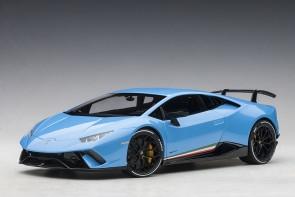 Lamborghini Huracan Performante Light Blue Cepheus AUTOart 79153 scale 1:18