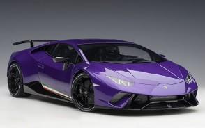 Lamborghini Huracan Performante Pearl Purple Viola Pasifae Clauco AUTOart 12078 Scale 1:12