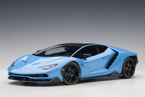Light blue Lamborghini Centenario Cepheus AUTOart 79113 scale 1:18