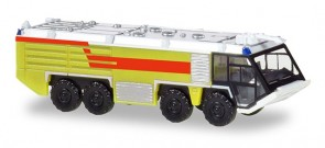 Lime Green Fire Engine Truck Herpa Accessories 532921 scale 1:200