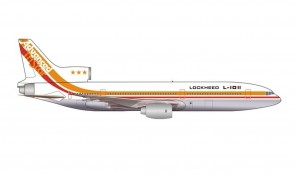 Lockheed House L-1011-1 TriStar N1011 TriStar 50th Anniversary Herpa Wings 535571 scale 1:500