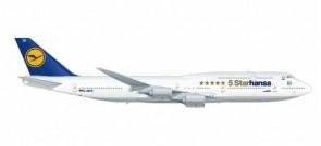 Lufthansa 747-8 5 Starhansa Reg# D-ABYM Herpa 531504 scale 1:500