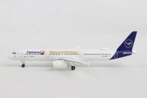 Lufthansa A321 Fanhansa team Russia 2018 D-AISQ new livery 531979 1:500