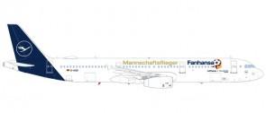Lufthansa A321 new livery Fanhansa Russia 2018 Team D-AISQ 559416 scale 1:200
