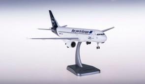 "Lufthansa Airbus A320 D-AIZG ""Say Yes to Europe"" gears & stand Hogan HGDLH017 Hogan scale 1:200"