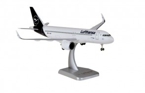 Lufthansa Airbus A320neo D-AINO new livery gears & stand Hogan HGDLH012 Hogan scale 1:200