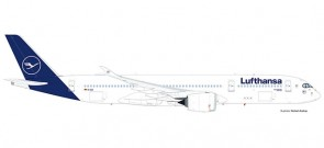 Lufthansa Airbus A350-900 New Livery registration D-AIXM Herpa Wings 559577 scale 1:200