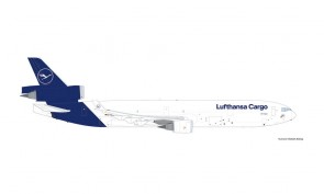 Lufthansa Cargo MD-11F D-ALCD Die-Cast Herpa Wings 535212 scale 1:500