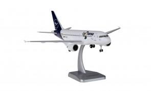 "Lufthansa ""Lu"" Airbus A319 new livery D-AILU gears & stand Hogan HGDLH018 scale 1:200"