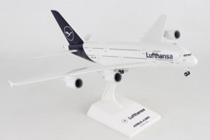 Lufthansa New Livery A380 D-AIMB Stand and Gears Skymarks SKR1032 Scale 1:200