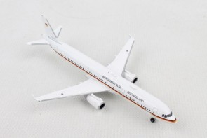 Luftwaffe Flugbereitschaft Airbus A321 Ministry of Defense 15+04 531986 scale 1:500