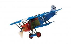 Luftwaffe Fokker DVII Rudolf Berthold Jasta 15/JG II Chery-les-Pouilly Aerodrome France 1918 WWI Corgi 38907 1:48