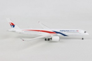 Malaysia Airlines Airbus A350-900 new livery Herpa Wings 532990 scale 1:500