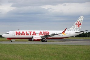 Malta Air Boeing 737 MAX 8 200 9H-VUC JC Wings JC4MAY0010 scale 1:400