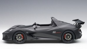 Matt black Lotus 3-Eleven with glossy accents AUTOart 75391 scale 1:18